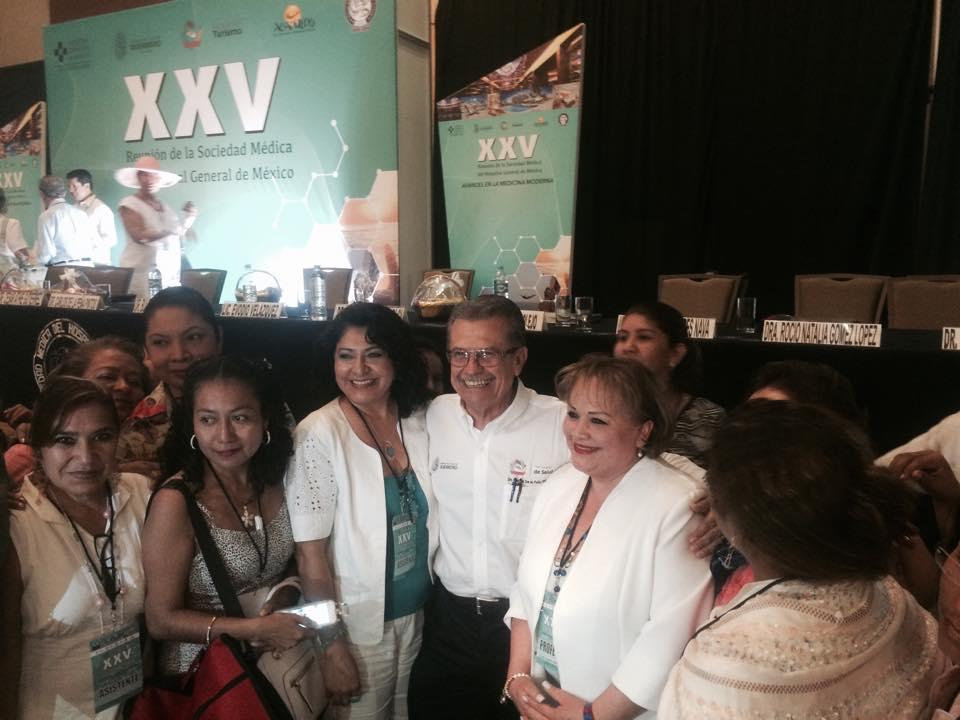 En Acapulco se lleva a cabo la reunión de la sociedad médica del Hospital General de México.