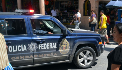 41007102.  Iguala, Gro.- La Gendarmería asumió las tareas de seguridad en Iguala con el acompañamiento del Ejército. L/COR/CLJ/