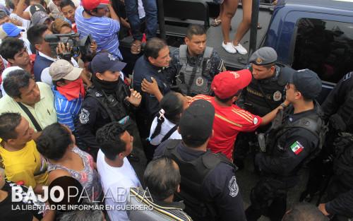 Claudio Vargas - Balacera en calle Vallarta, durante evento de Astudillo 1