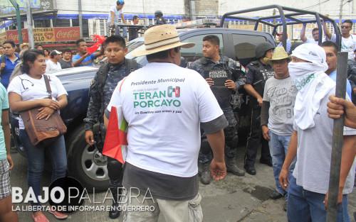 Claudio Vargas - Balacera en calle Vallarta, durante evento de Astudillo 2