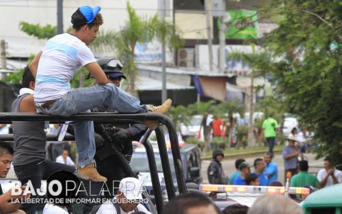 Claudio Vargas - Balacera en calle Vallarta, durante evento de Astudillo 3