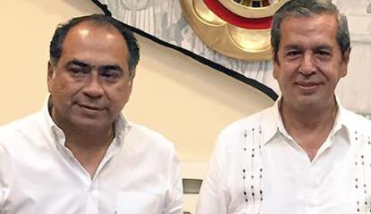 Ortega y Astudillo 415x240 - Requiere Guerrero mil 200 mdp para sortear crisis: Astudillo