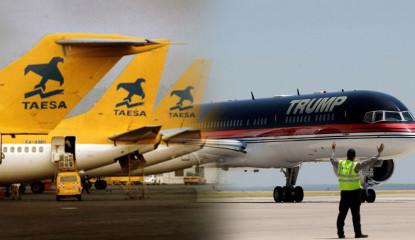 Taesa 415x240 - Avión de súper lujo de Trump pertenecía a empresa mexicana
