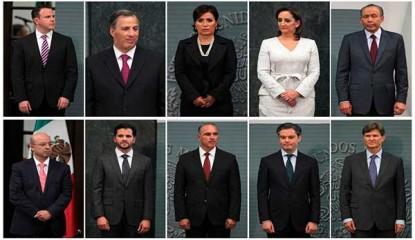 Nuevo Gabinete 415x240 - Cambios de forma no de fondo, en el gabinete de Peña: partidos