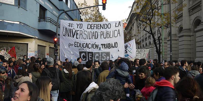 El Gobierno macrista eliminó fondos a las universidades por 65 millones de pesos