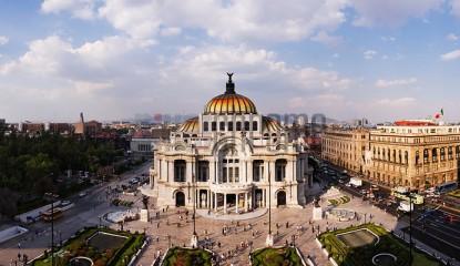 Palacio de Bellas Artes Mexico City Mexico