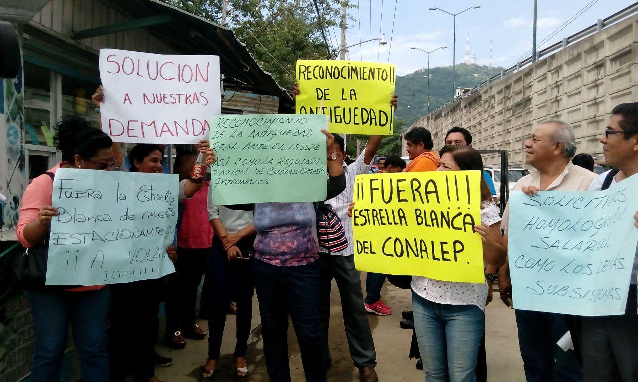Protesta Conalep