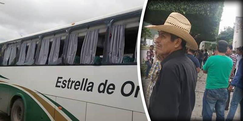 Tráiler golpea autobús donde viajaban padres de los 43