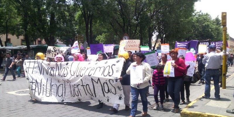 Buscan Alerta de Género para Puebla y Tlaxcala