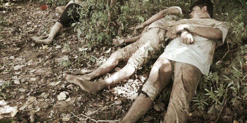 Localizan tres cuerpos en Coyuca de Benítez