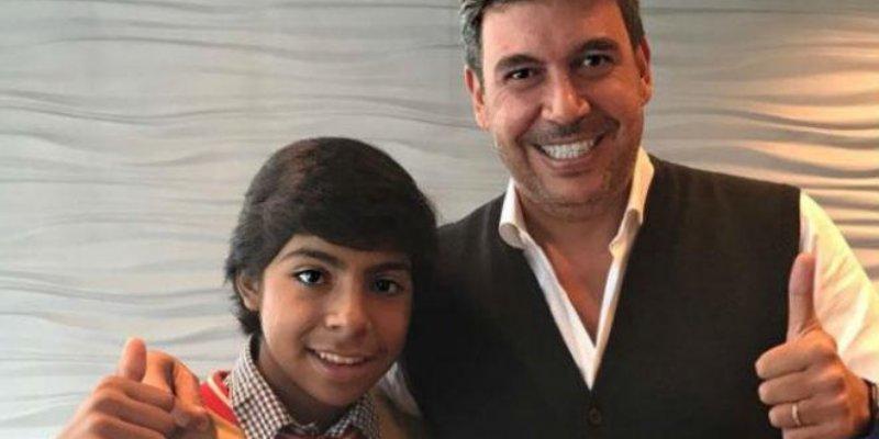 Paco, 'El mejor vendedor de empanadas' se reúne con yerno de Slim