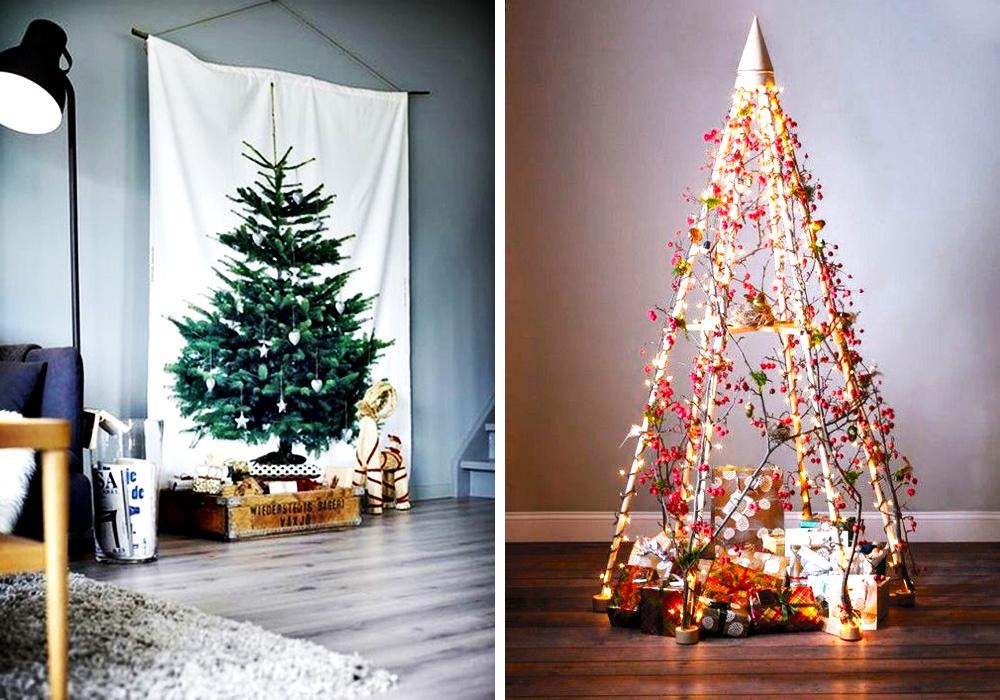 Ideas creativas y originales para dise ar tu rbol de - Arboles de navidad creativos ...