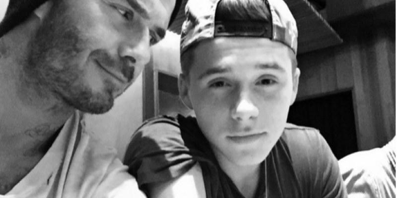 Beckham ridiculiza a su hijo en plena transmisión en Instagram