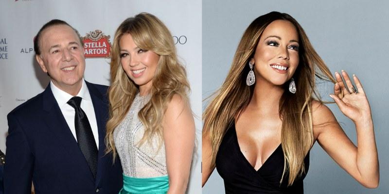 Tommy se olvida de Mariah y consiente a Thalía en Instagram