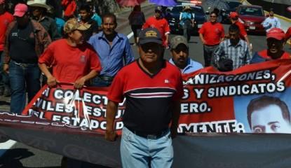 marcha en autopista del sol_Noticias