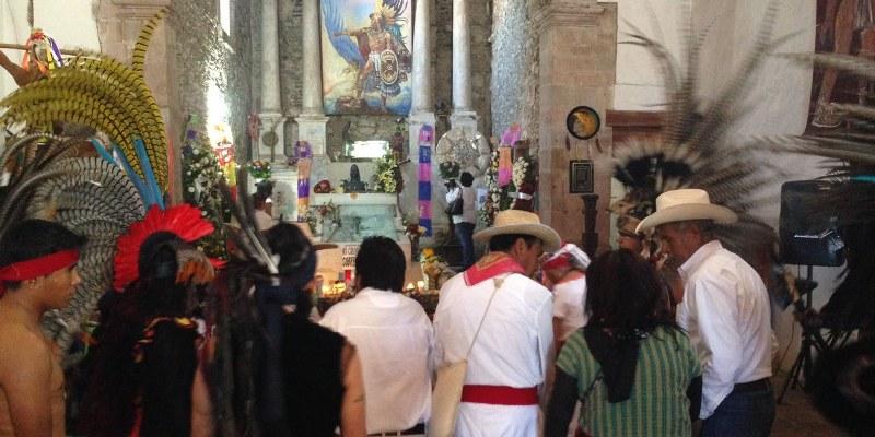 Interior de la Iglesia Santa María de la Asunción. Foto: Sergio Ferrer