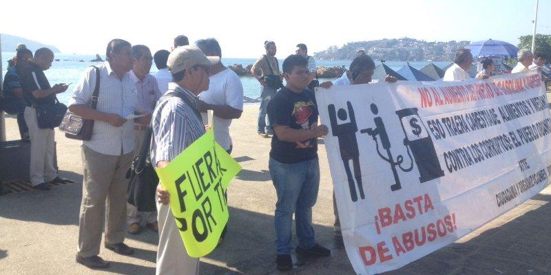 protesta acapulco_Noticias