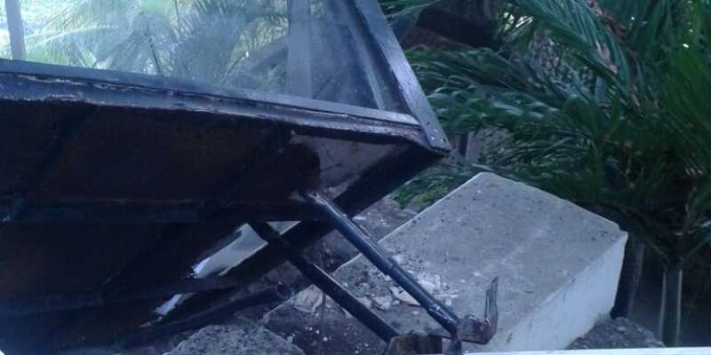Sobrecargan funicular y se desploma, muere uno y cinco resultan heridos — Acapulco