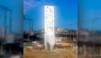 """obra garita 800x400 415x240 - Manda Acapulco """"mensaje de paz"""" con obra """"baleada"""""""