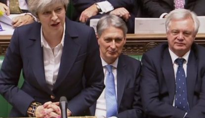 "theresa may Noticias 1 415x240 - ""Dejaremos la Unión Europea, pero no Europa"": Theresa May"