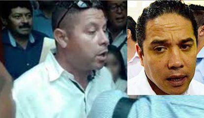 Alcalde de Acapulco y guarura violento