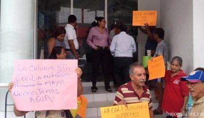 """Capama Protesta Acapulco 3 800x400 415x240 - """"Mentira"""", que falte agua en Acapulco, según CAPAMA"""