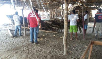 Guerrero marejadas 2 800x400 415x240 - Marejadas dejan 16 enramadas afectadas en Guerrero