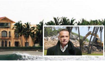 casa de luis miguel demolida 415x240 - Demuelen casa de Luismi en Acapulco; era un ícono del puerto