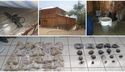 decomiso 415x240 - Encuentran laboratorio de heroína en la sierra de Guerrero