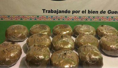 droga 415x240 - Detienen a uno con 13 kilos de marihuana en Guerrero