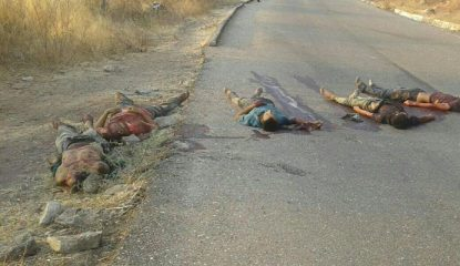ejecutados Noticias 1 415x240 - Hallan 5 ejecutados en Guerrero; uno podría ser 'El Tequilero'