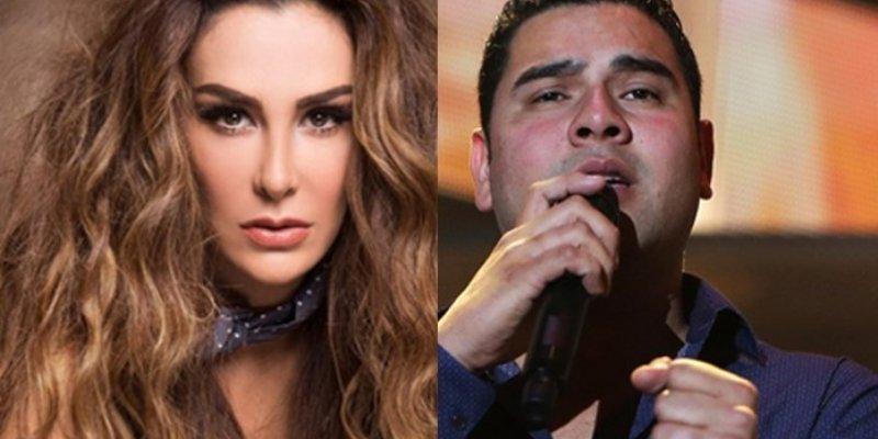 Ninel Conde graba video en Valle de Santiago