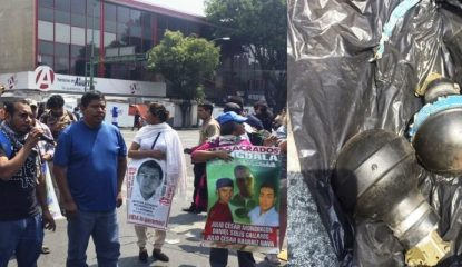 padres 800x400 415x240 - Condena el Centro Morelos agresión contra padres de los 43