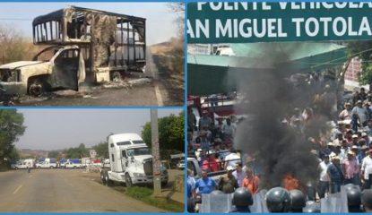 tierra caliente 1 415x240 - Morelos: protestan contra ampliación de autopista