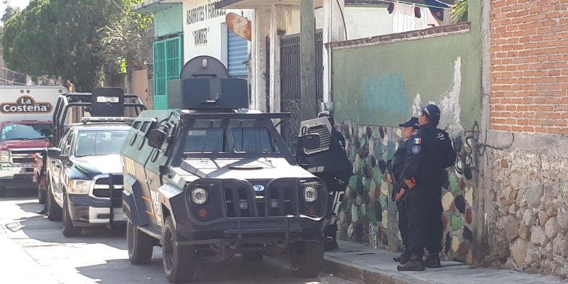 Policías de Morelos
