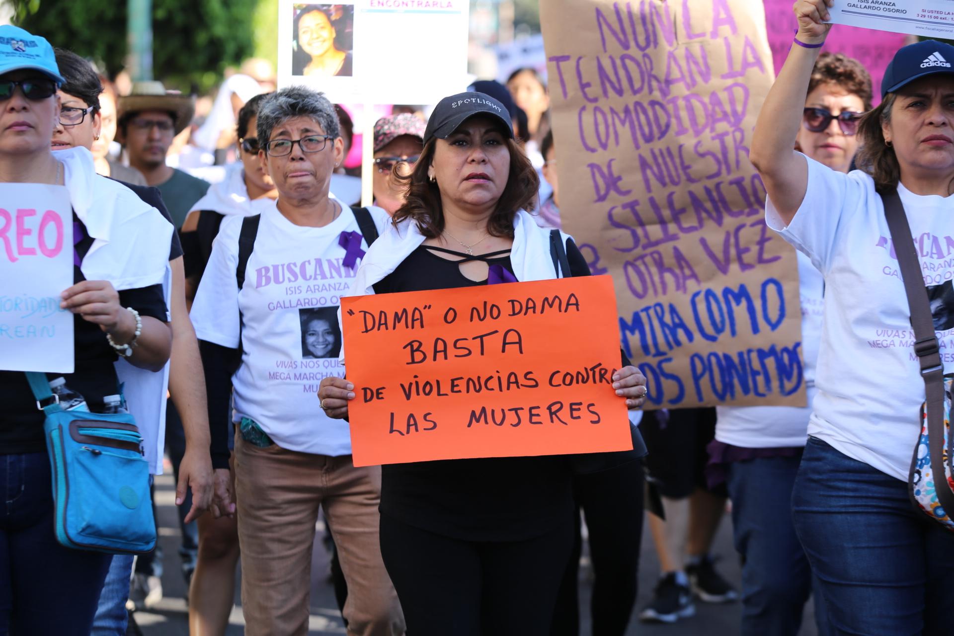 La protesta concluyó en la Plaza de Armas de la ciudad