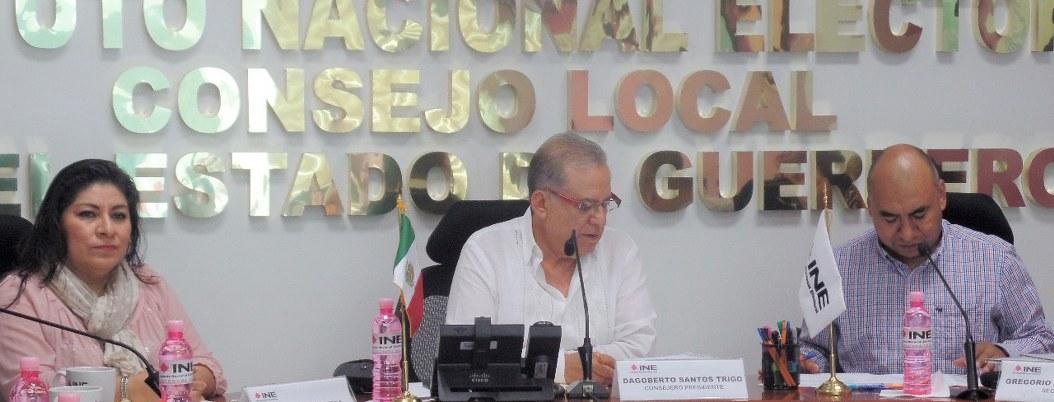 Dagoberto Sánchez Trigo Vocal del INE