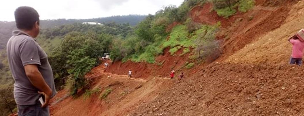 Comunidad de Chilpancingo lleva un mes incomunicada - Bajo Palabra