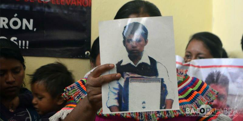 Familiares de desaparecidos en Chilapa