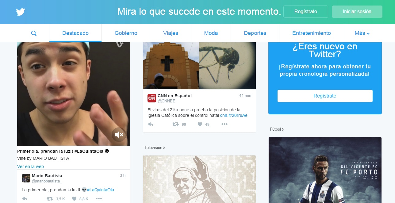 Twitter y su nueva apariencia