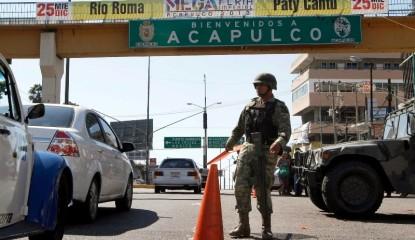 Violencia 415x240 - Ejecutan a taxista en Acapulco, el segundo en menos de 2 horas
